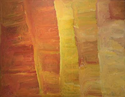 A work of Kudditji Kngwarreye