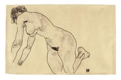 A work of Egon Schiele