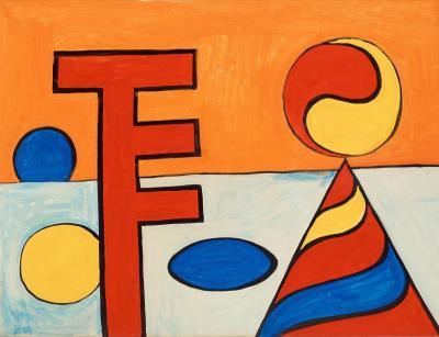 A work of Alexander Calder