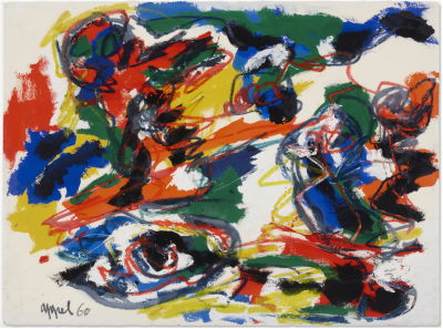 A work of Karel Appel